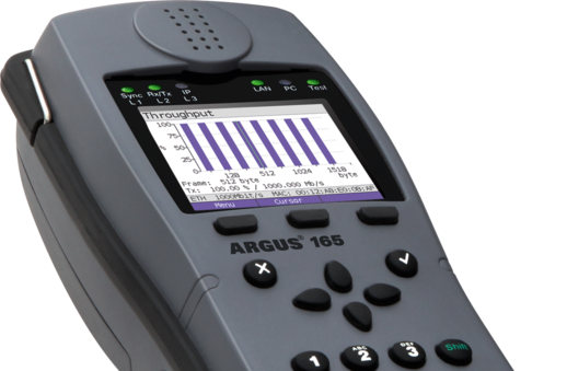 Drivers Update: Argus 125 Voice Tester