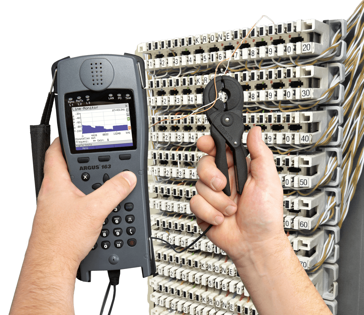 Argus Info Tester For Dsl Ethernet Copper Isdn And More